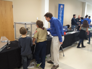 Teaching Kids How to Mill for National Engineers Week