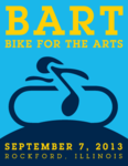 Bike For The Arts September 7th, 2013 (Click image to enlarge)