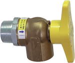 Gas Meter Ball Valve Opt.GSW (GZH32)