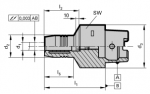 HSK-C 63 Hydraulic Chucks (Click image to enlarge)