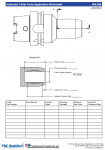 Hydraulic Collet Force Application Worksheet