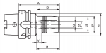HSK-A Hydraulic Expansion Chucks