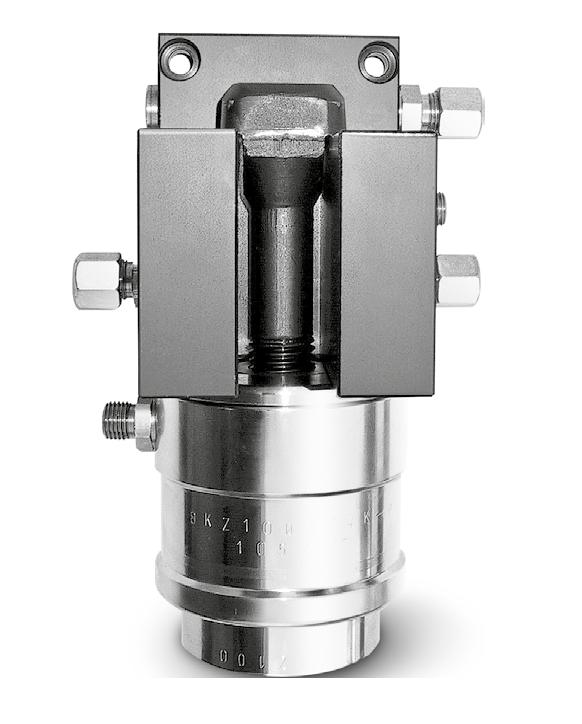 Berg manual drawbar style hydraulic clamping systems