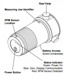 Wireless Chuck Force Sensor Manual