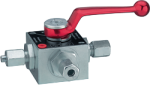 3-Way Switch Ball Valves (MW17-3)