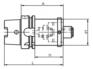 HSK-A/C Reducer Diagram