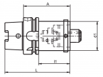 HSK-A/C Reducer Diagram (Click image to enlarge)