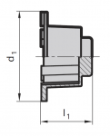 HSK Tool Holder Taper Wipers (Click image to enlarge)