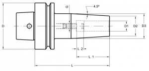 Laip HSK-F Shrink Fit Chucks (Standard Length)