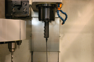 Measuring adapter inside spindle
