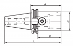 Steep Taper to Capto PSK (PSC) Adapters (Click image to enlarge)